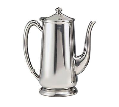 World Tableware 8401 64-oz Traditional Gooseneck Coffee Server - Silverplated