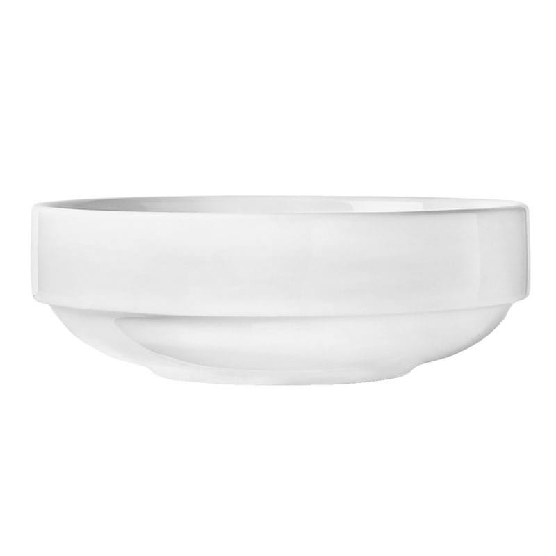 "World Tableware 840-330-003 7"" Porcelain Stacking Bowl w/ 35-oz Capacity, Porcelana"