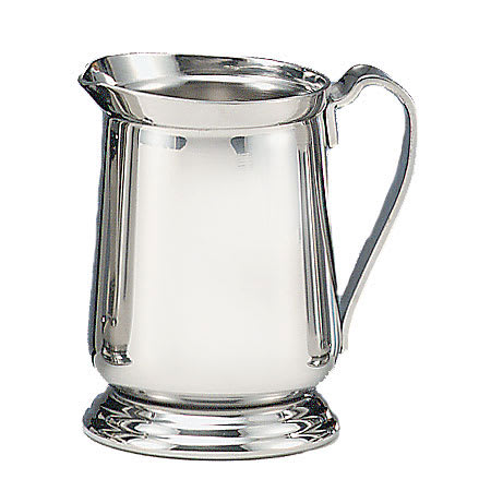 World Tableware 8445 8-oz Traditional Cream Pitcher - Silverplated