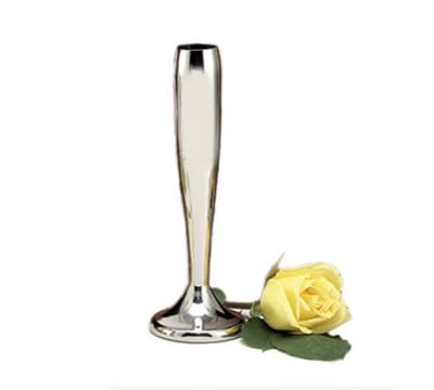 "World Tableware 864309 9"" Flower Vase - Silverplated"