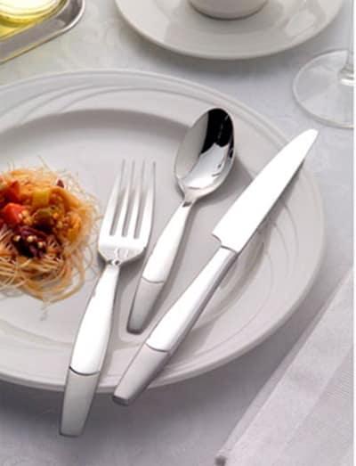 World Tableware 990002 Dessert Spoon w/ Satin Finish, 18/8-Stainless, Perception World Collection