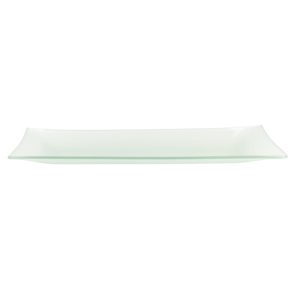 World Tableware BFP-15 Rectangular Frosted Banquet Tray - 20 1/2x8