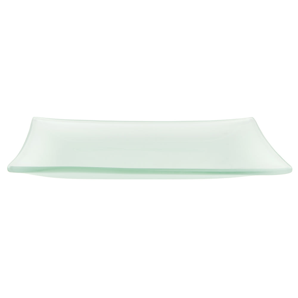 World Tableware BFP-25 Rectangular Frosted Banquet Tray - 17x11 1/2