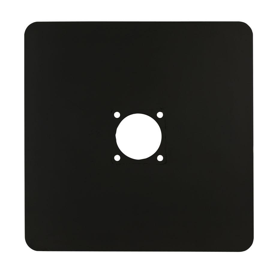 "World Tableware BT-BASE 16"" Banquet Tree Base - Iron, Black"
