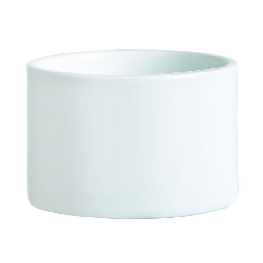 World Tableware BW-019 5-1/2-oz Chef's Selection Canne Bowl - Porcelain, Ultra Bright White