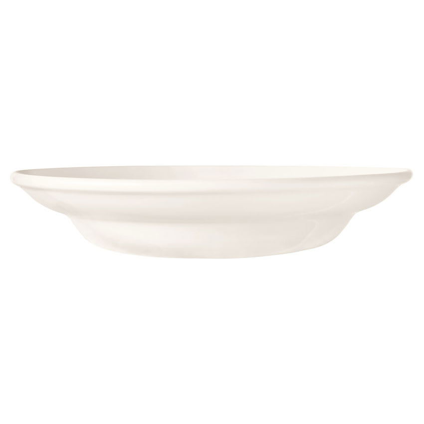 "World Tableware BW-1130 9.25"" Porcelain Rimmed Soup Bowl w/ 12 oz Capacity, Basics Collection"