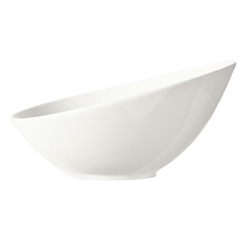 "World Tableware BW-7100 7"" Porcelain Bowl w/ 13-oz Capacity, Ultra Bright White, Belmar, Chef's Selection"