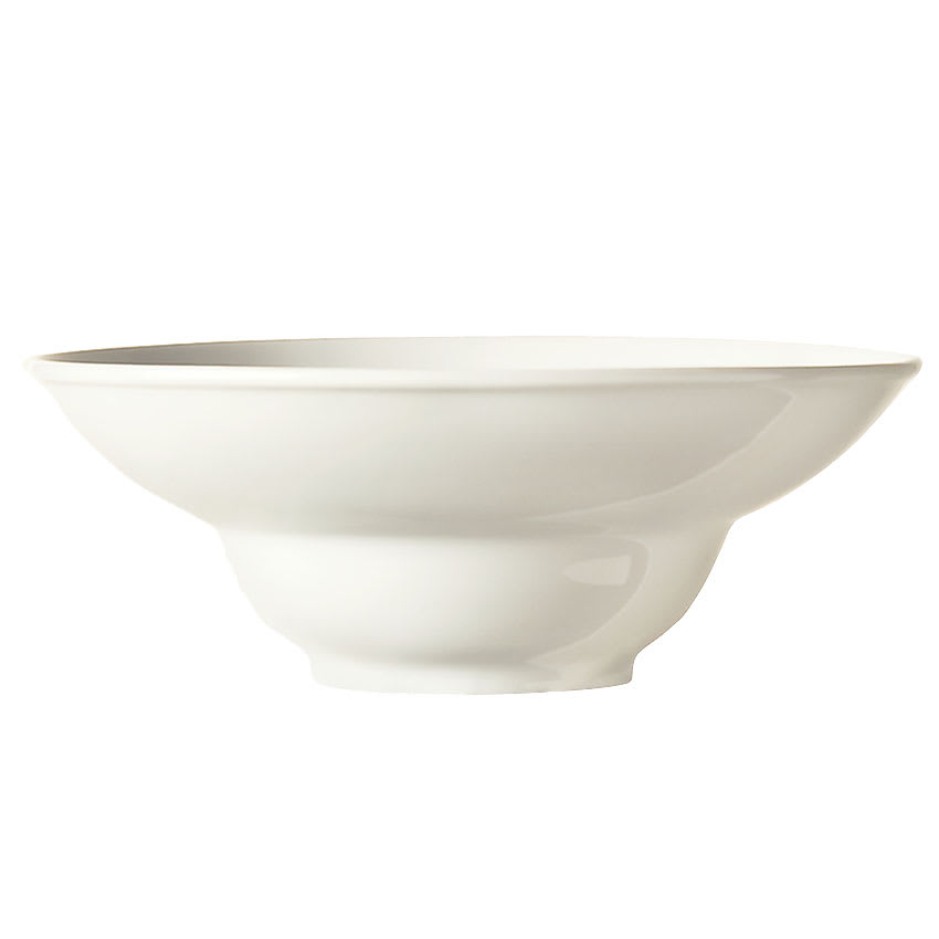 "World Tableware BW-8100 8"" Round Sea Bright Porcelain Bowl w/ 7-oz Capacity & Wide Rim, Chef's Selection"