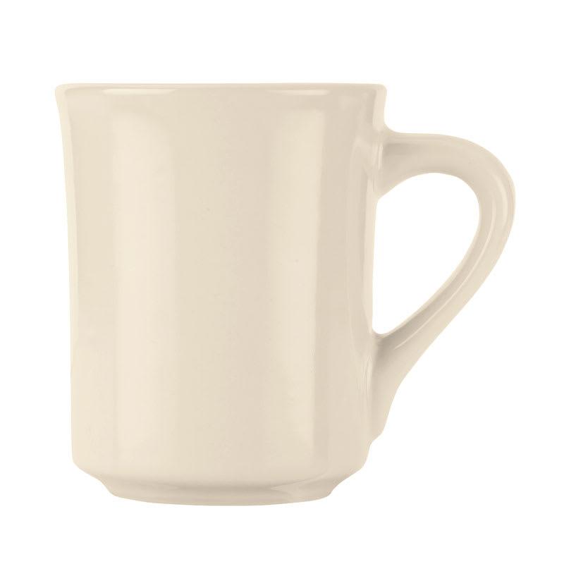 World Tableware BWR-88-CW Cream White Mug, Tenacity, Round