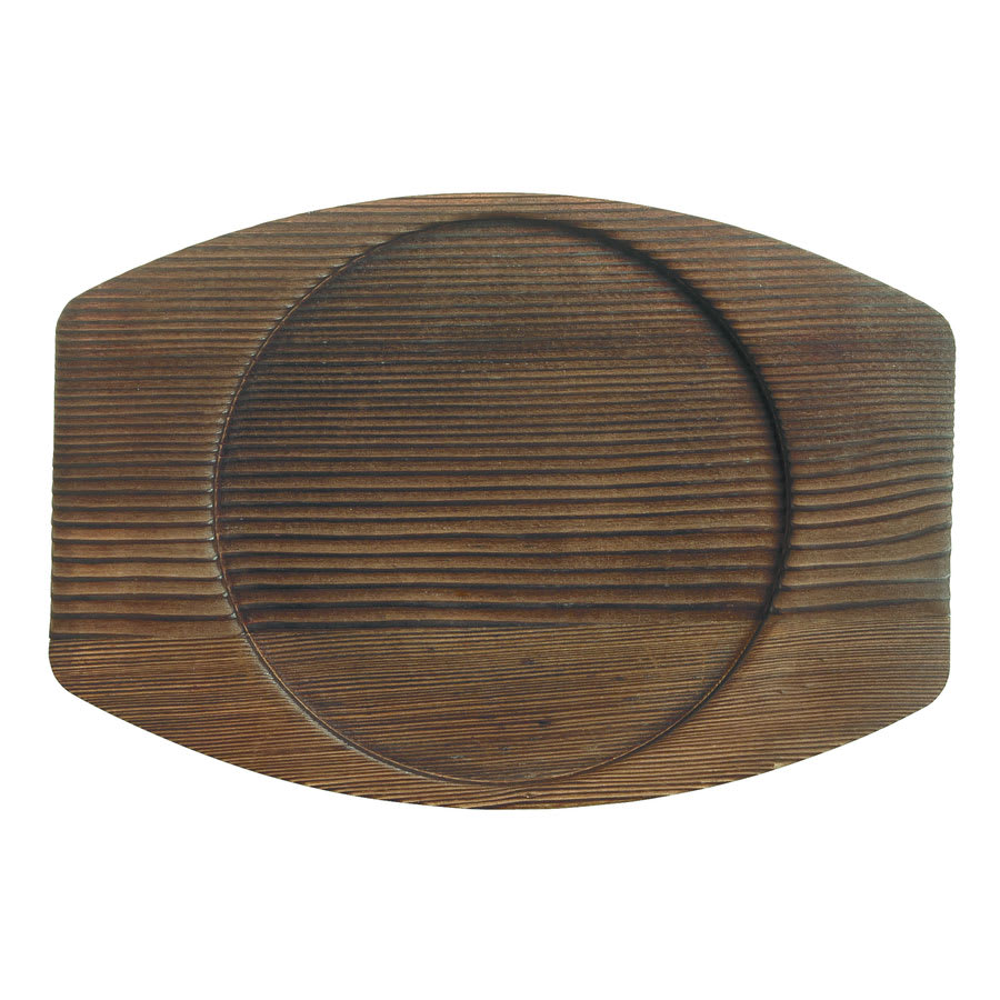 "World Tableware CIS-15TR 7.875"" Round Trivet, Wood"