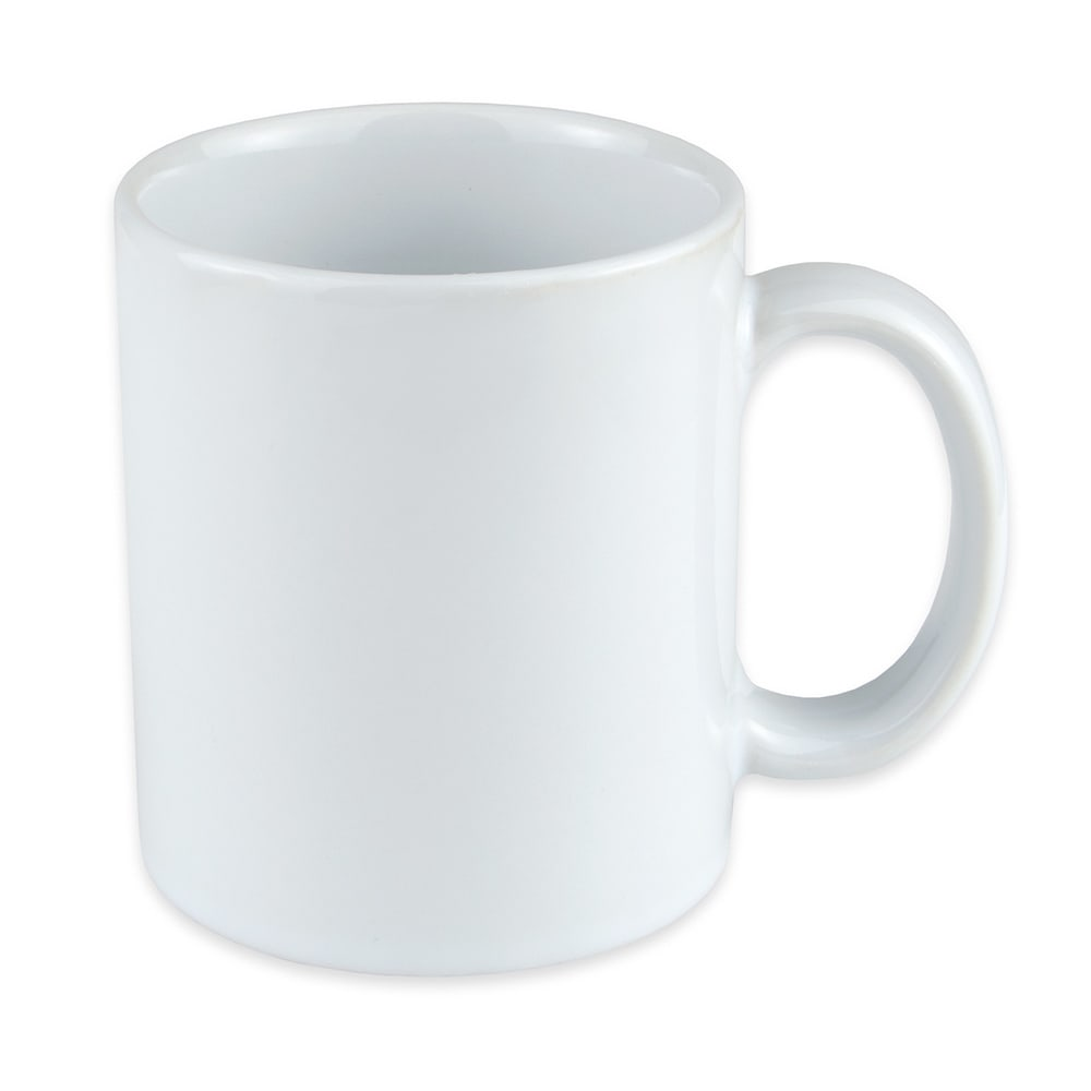 World Tableware CM-12 12 oz Porcelain Mug, White, Ultima