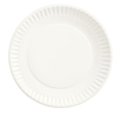 "World Tableware CO-10 6.375"" Round Plate, Bright White"