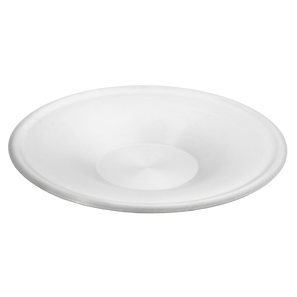 """World Tableware CS 100 5-3/4"""" Cappuccino Saucer - 18/8 Stainless"""