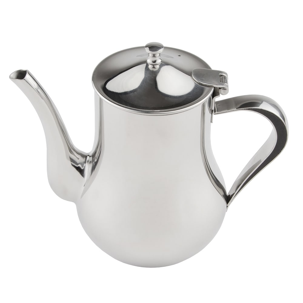 World Tableware CT-819 35 oz Belle Coffee Pot - 18/8 Stainless