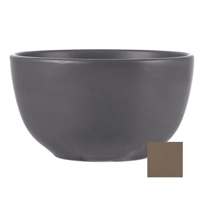 "World Tableware DRI-10-S 5.5"" Driftstone Bowl w/ 26-oz Capacity - Porcelain, Sand"