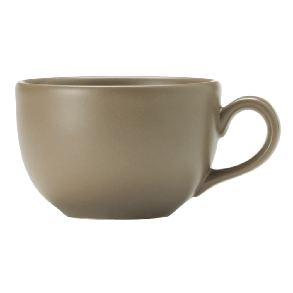 World Tableware DRI-12-S 7.75-oz Driftstone Cup - Porcelain, Sand