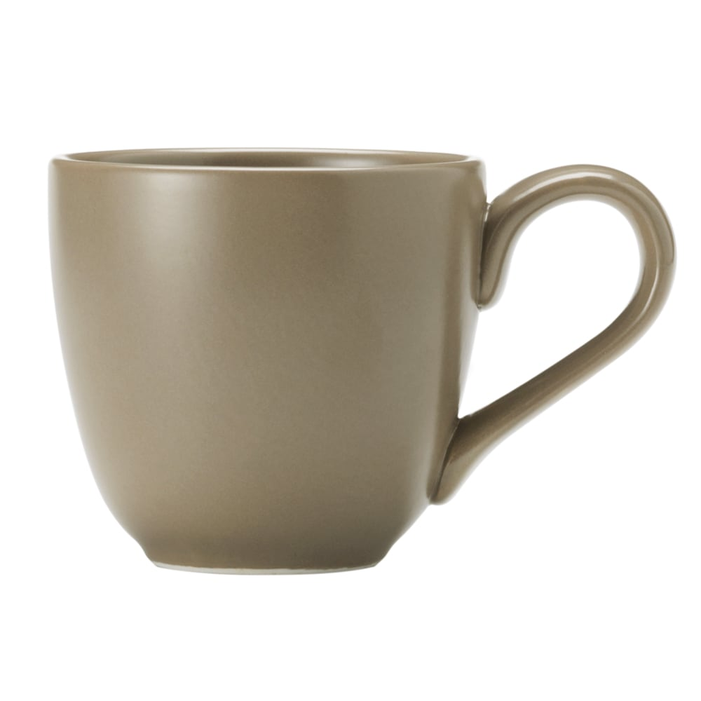 World Tableware DRI-13-S 12-oz Driftstone Mug - Porcelain, Sand