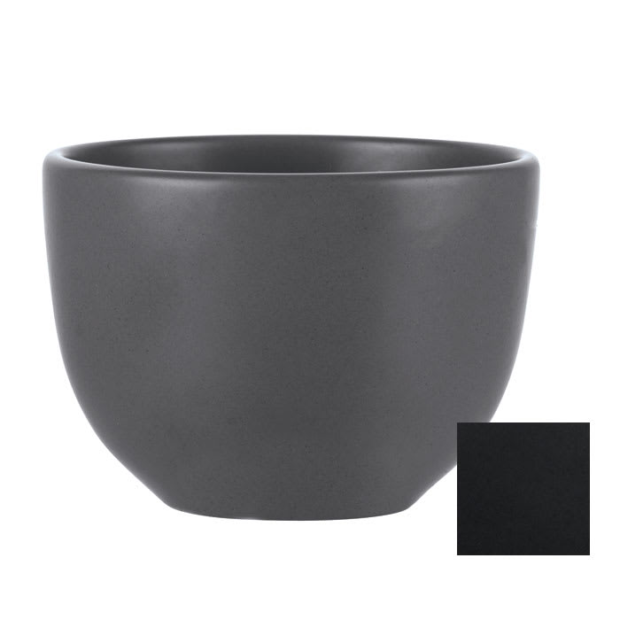 World Tableware DRI-9-O 10 oz Driftstone Bouillon Bowl - Porcelain, Onyx