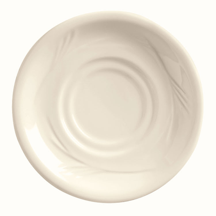 "World Tableware END-15 5.5"" Porcelain Saucer, Endurance"