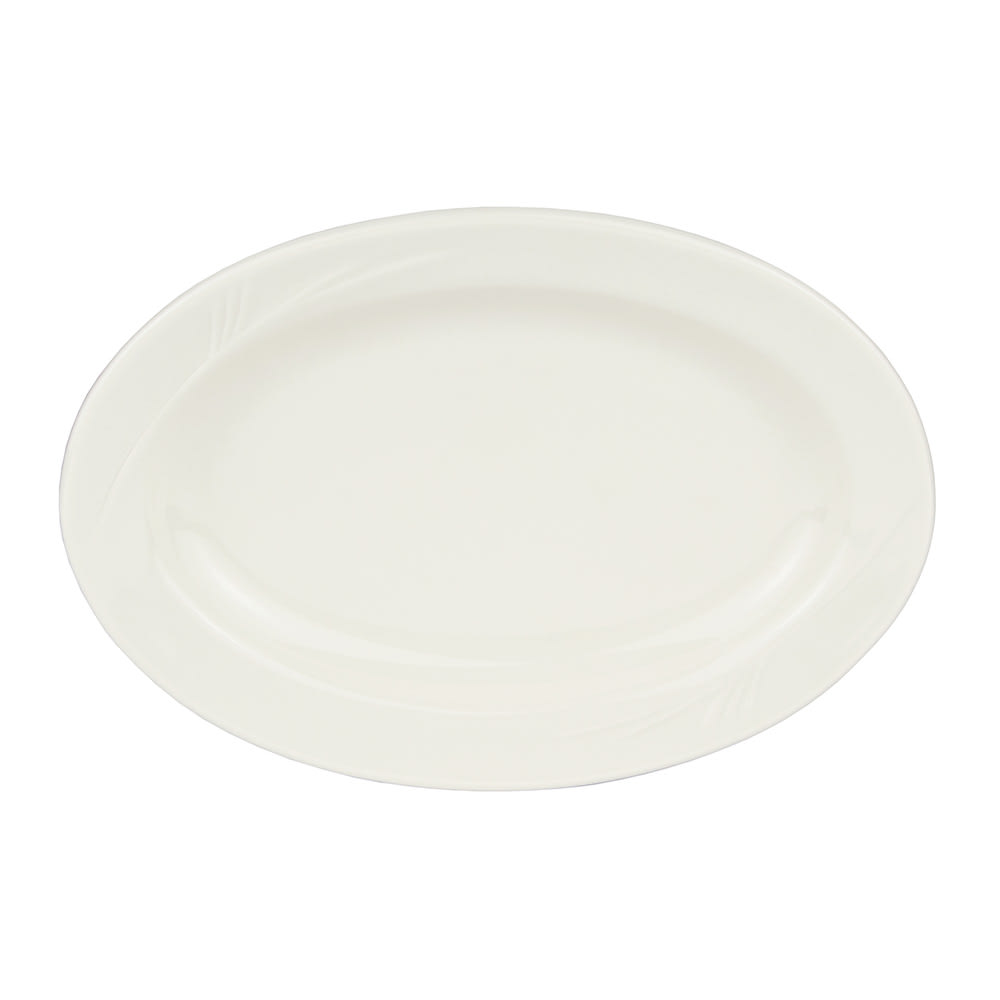 "World Tableware END-30 9.75"" Porcelain Platter, Endurance"