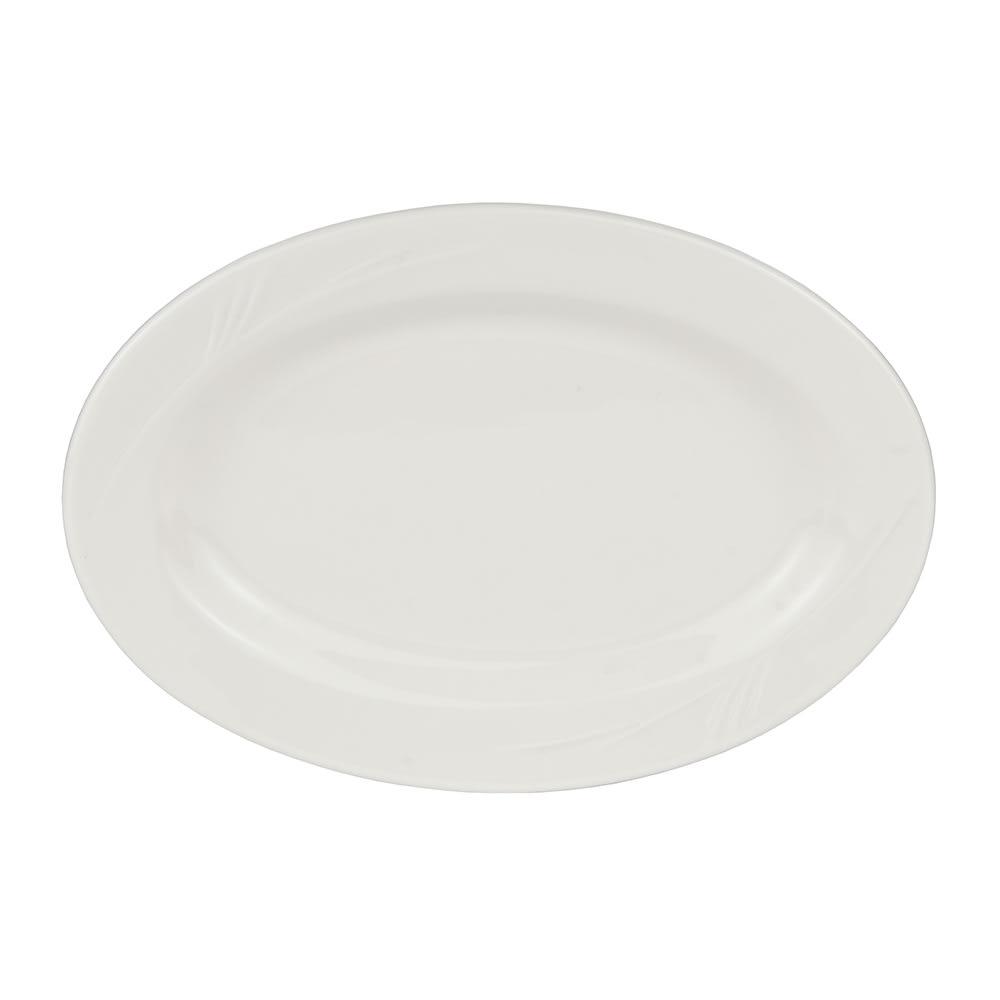 "World Tableware END-32 11.75"" Porcelain Platter, Endurance"