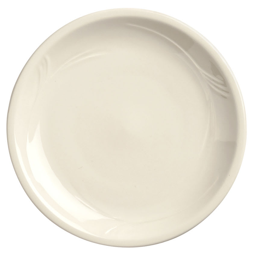 "World Tableware END-43 9"" Round Pellet/Induction Plate - Porcelain"