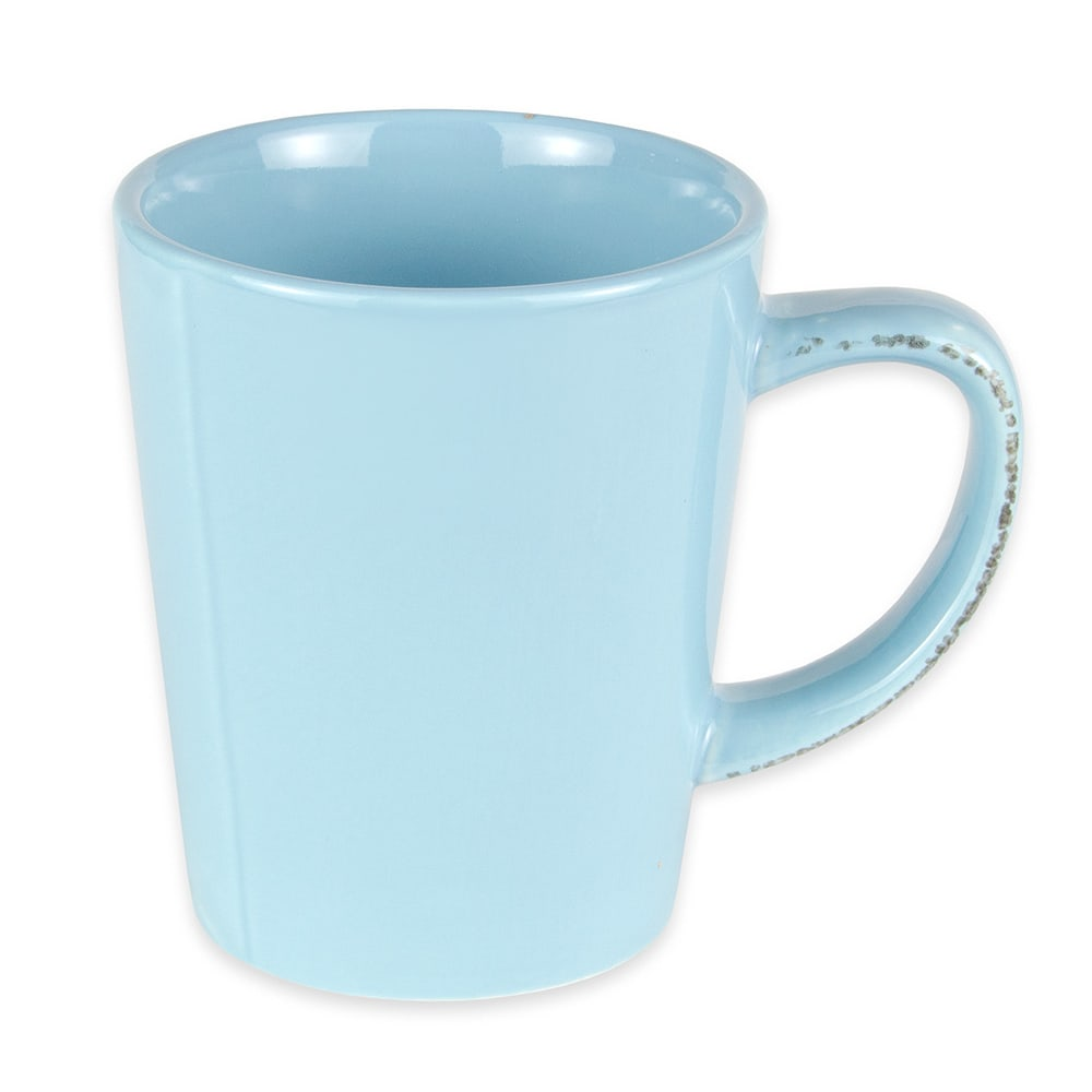 World Tableware FH-517H 12 oz Porcelain Mug - Blue Hen