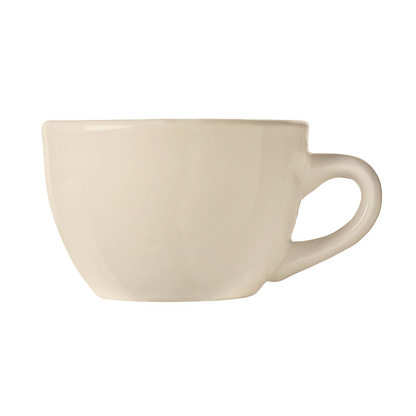 World Tableware NR-1 Cream White Cup, Kingsmen White, Round