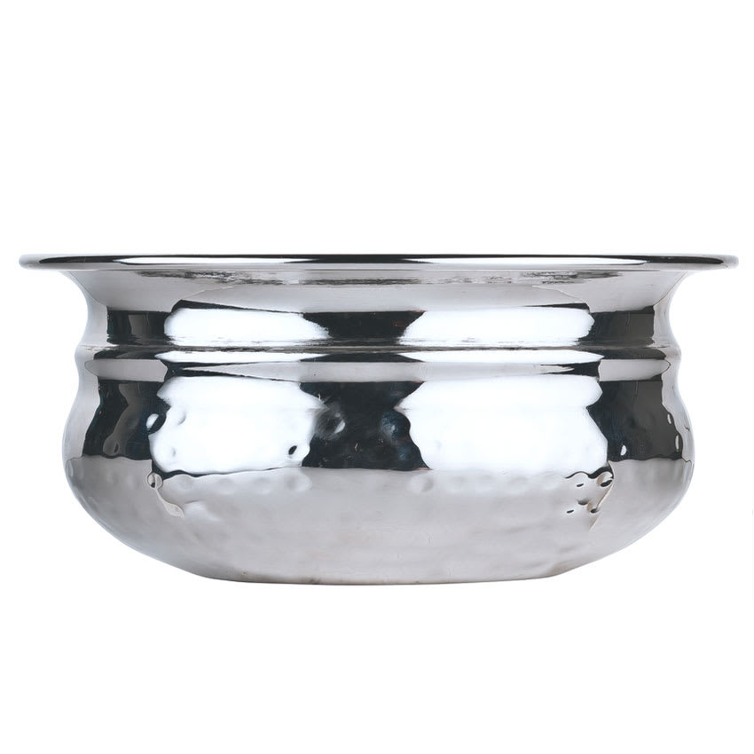 World Tableware PBB-3 4-oz Round Pot Belly Bowl, Stainless Steel