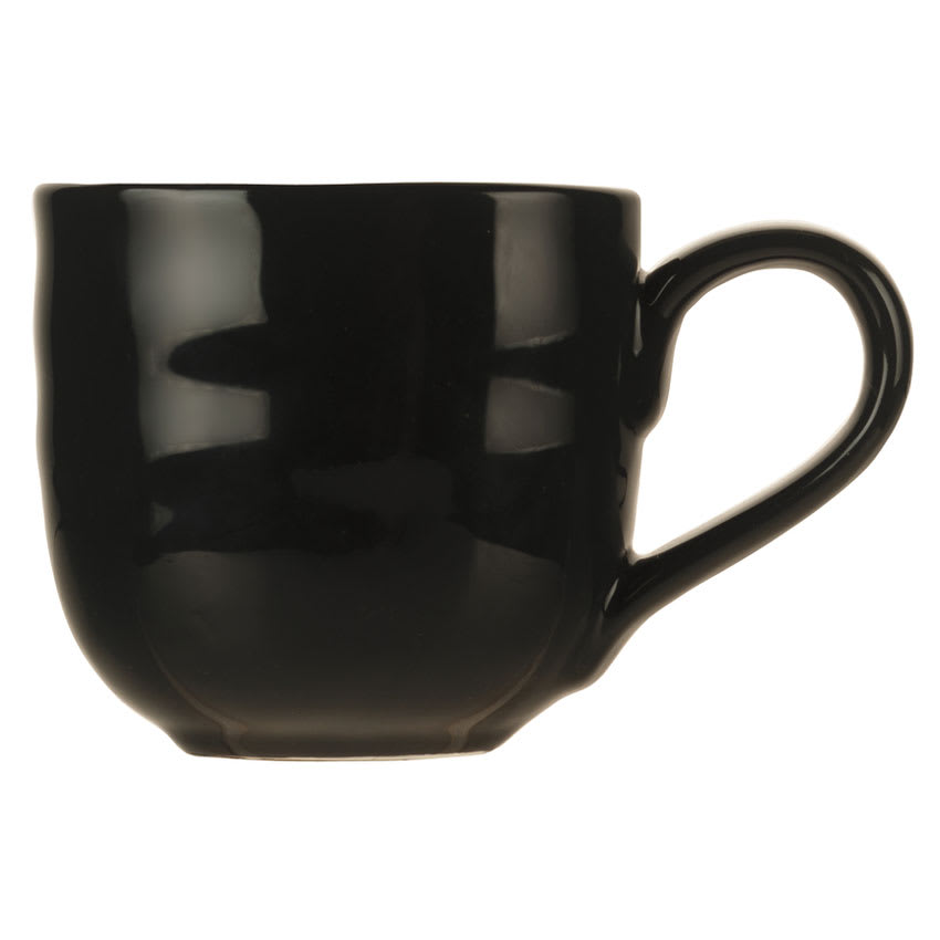 World Tableware PEB-15-T 11.63-oz Pebblebrook Mug - Porcelain, Tiger
