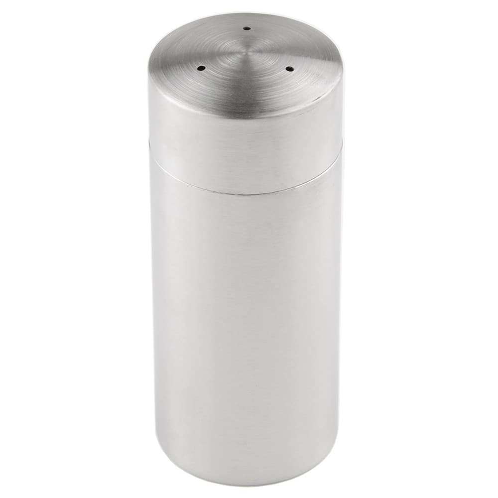 "World Tableware PS-100 4.5"" Pepper Shaker w/ Metal Lid, Round"