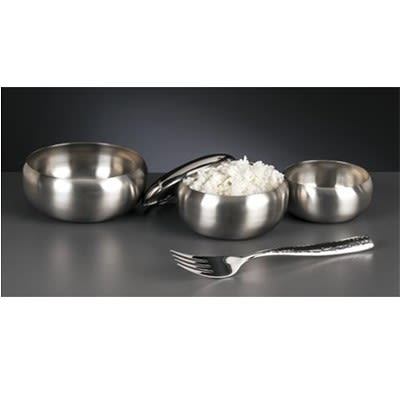 World Tableware RBL-2 Rice Bowl Cover for RB-2, Stainless