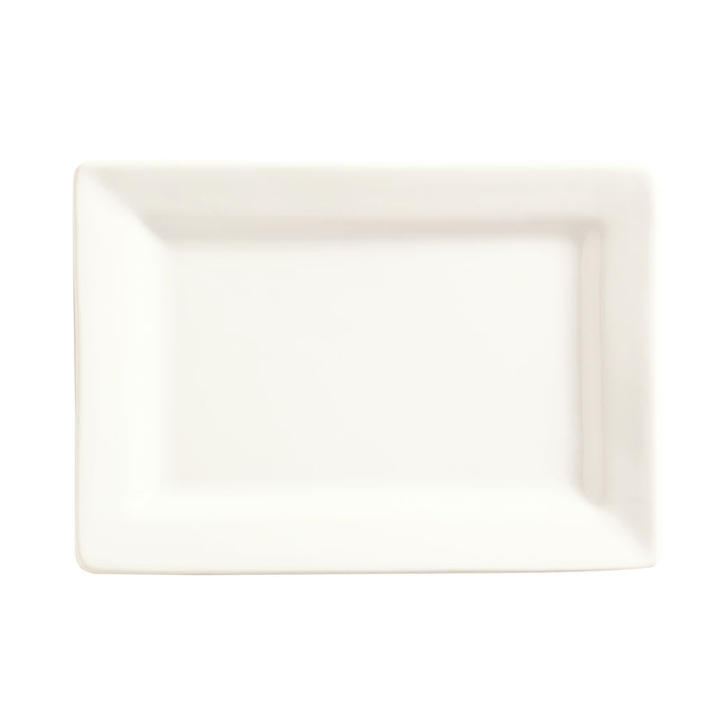 "World Tableware SL-20 Rectangular Porcelain Plate, 8x5.62"", Slate"