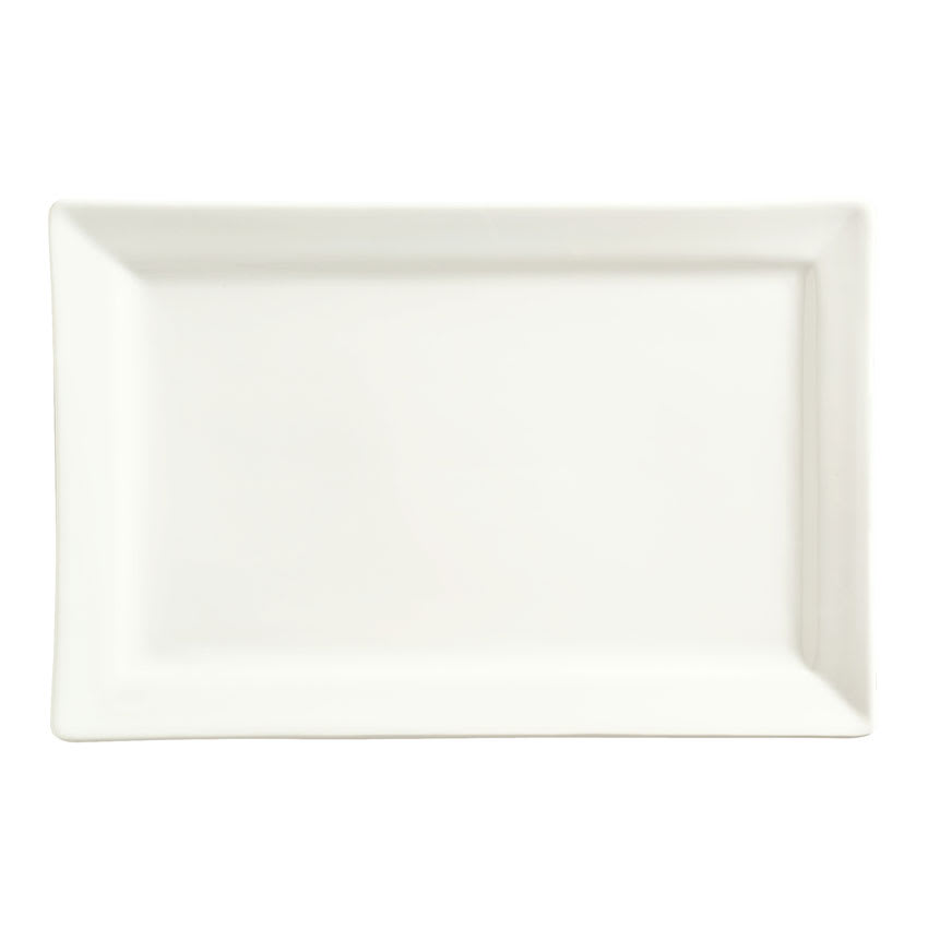 "World Tableware SL-26 Rectangular Porcelain Plate, 12x8"", Slate"