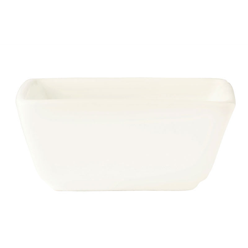 "World Tableware SL-44 3"" Square Dipping Bowl w/ 4-oz Capacity, Slate"