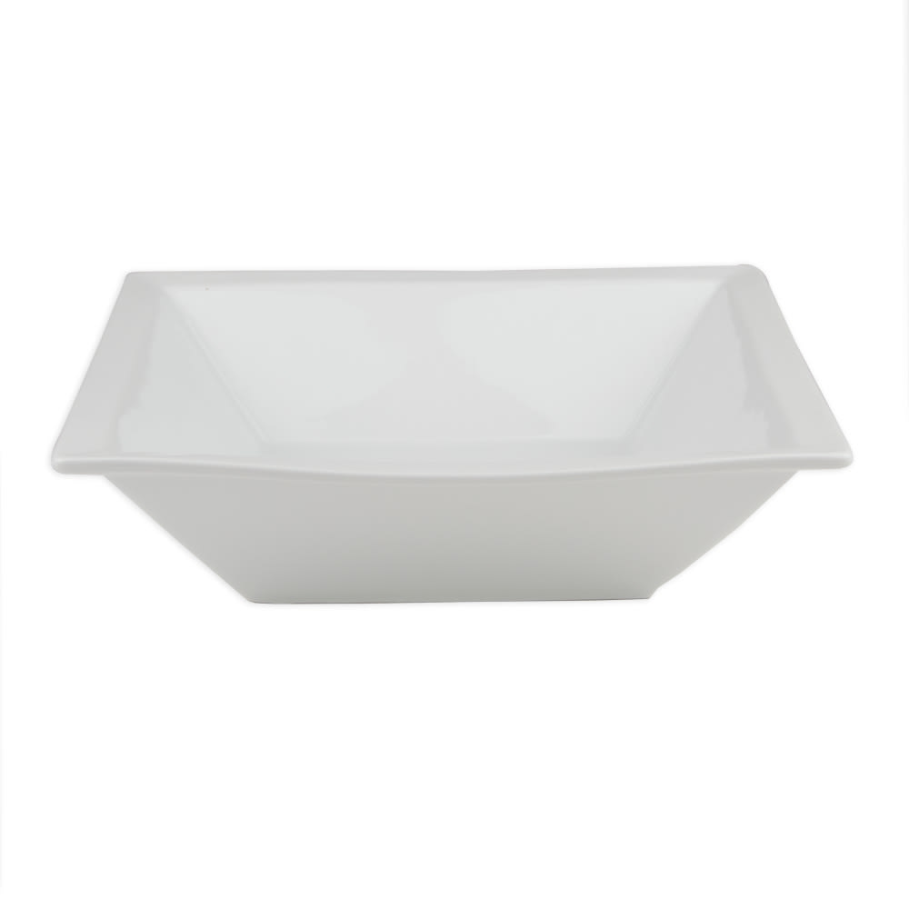 World Tableware SL-80 80-oz Square Bowl, Slate