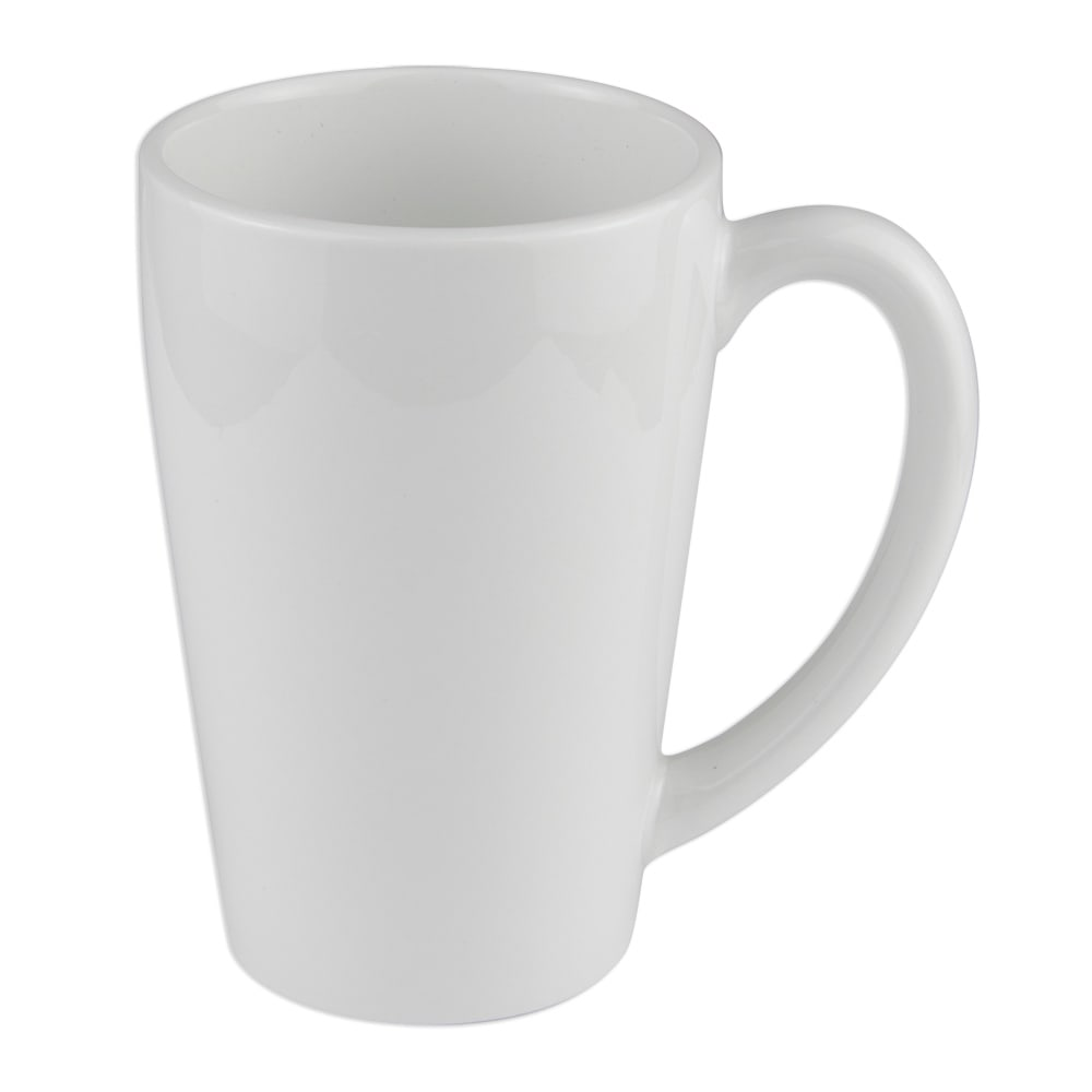 World Tableware STM-16 16-oz Stretch Mug, Porcelana