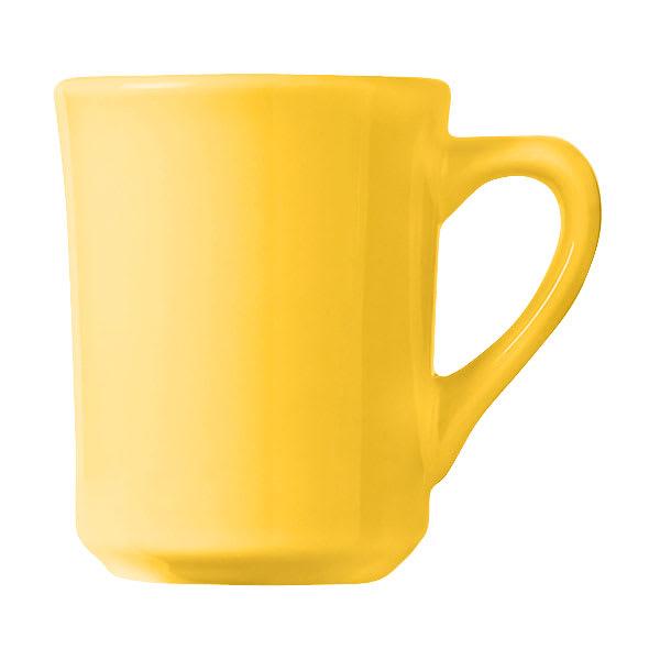 World Tableware TM-8-Y 8.5-oz Mug, Yellow, Tiara, Montego Bay