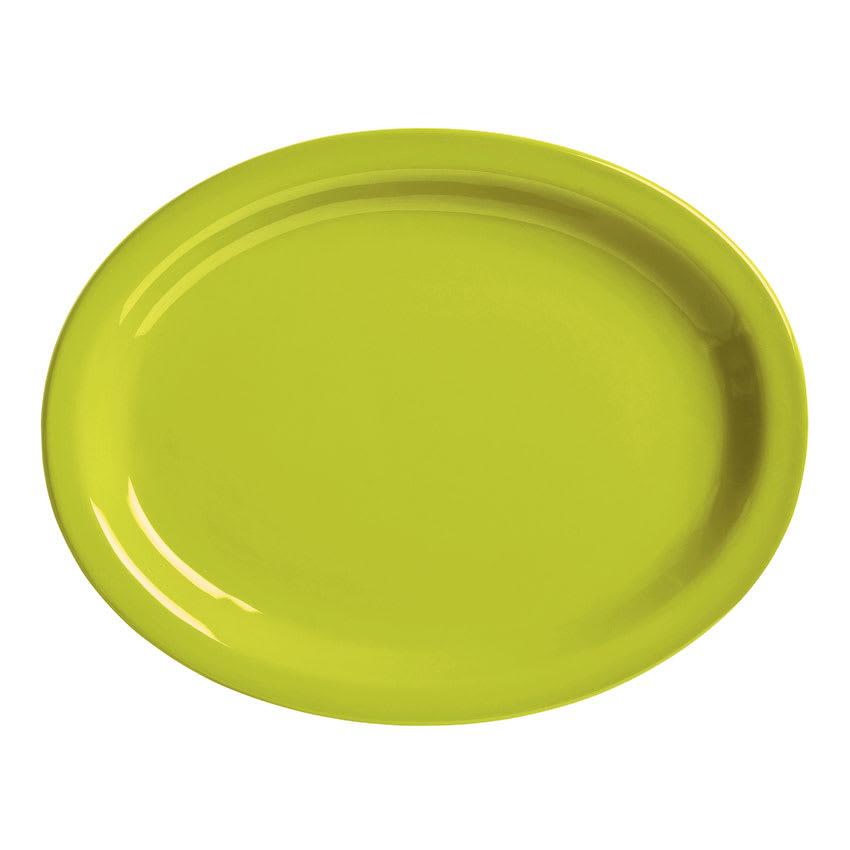 """World Tableware VCG155 15.5"""" Round Ceramic Platter, Margarita Green, Veracruz"""