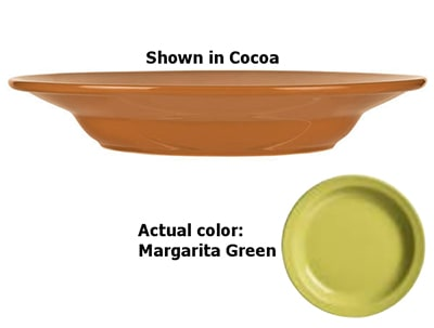 World Tableware VCG-39 20-oz Pasta Bowl, Veracruz - Margarita Green