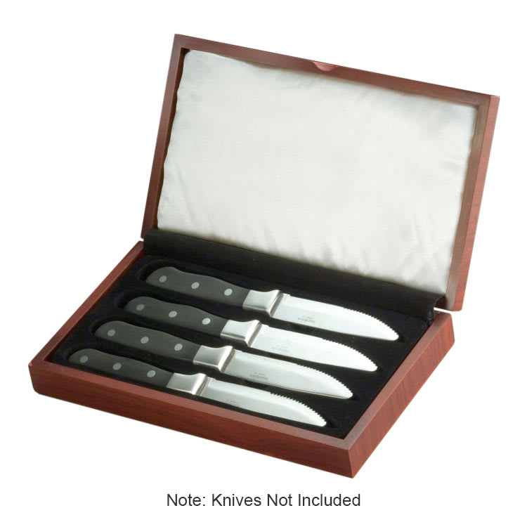 World Tableware WB 100 Wooden Display Box for 2012694 Steak Knife