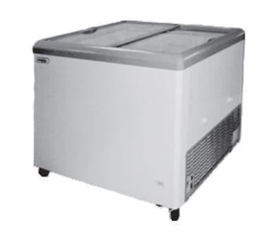 "Metalfrio MSF-43C 43"" Mobile Ice Cream Freezer w/ 3-Baskets, 115v"
