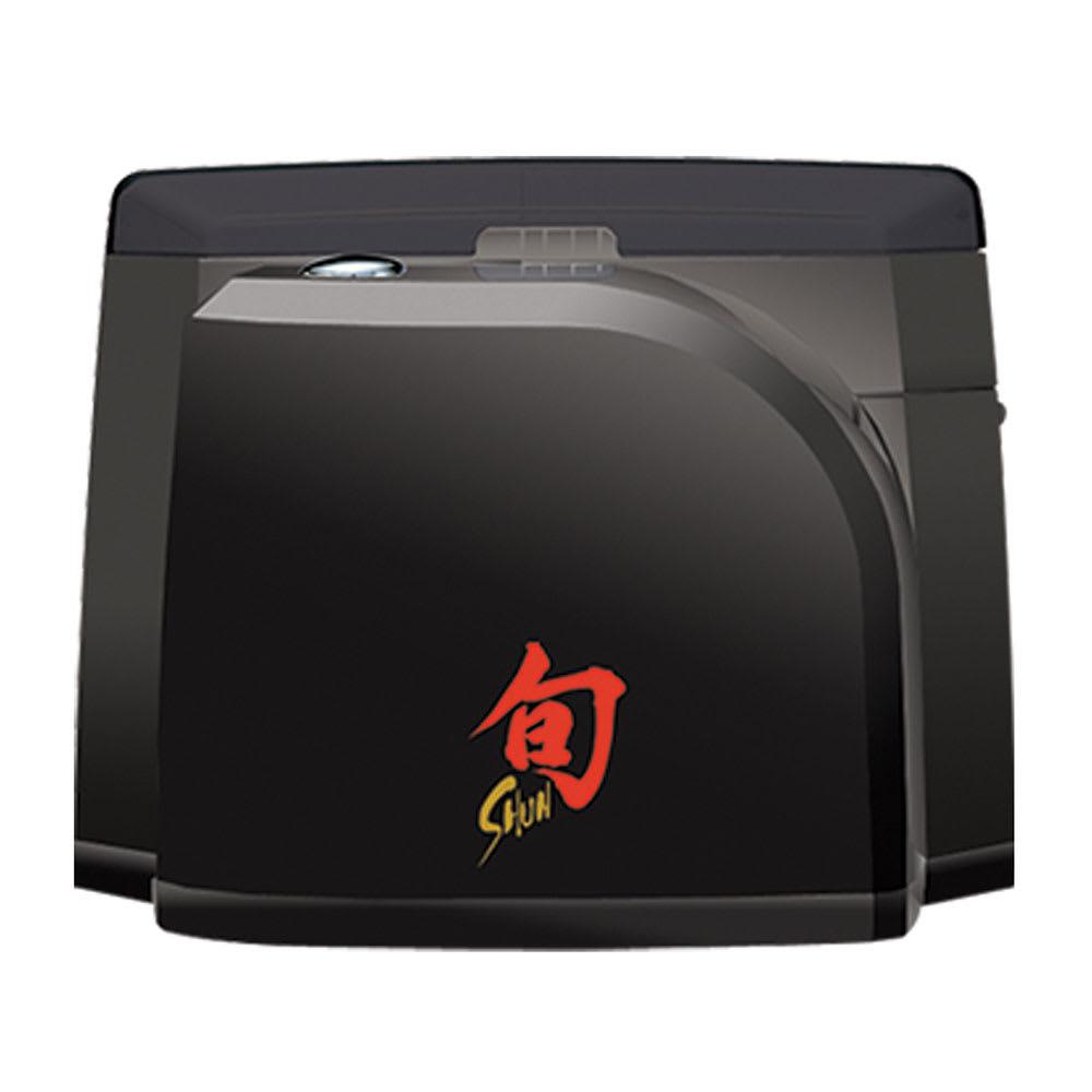 Shun AP0119 Electronic Knife Sharpener w/ Dust Cover, Black