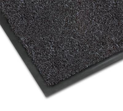 Notrax 434-330 Atlantic Olefin Floor Mat, Exceptional Water Absorbtion, 4 x 60 ft, Gun Metal