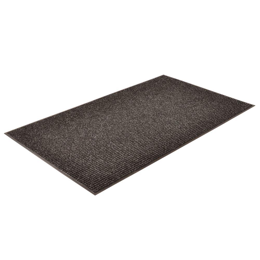 Notrax T39S0036CH Bristol Ridge Scraper Floor Mat, 3 x 6 ft, Midnight