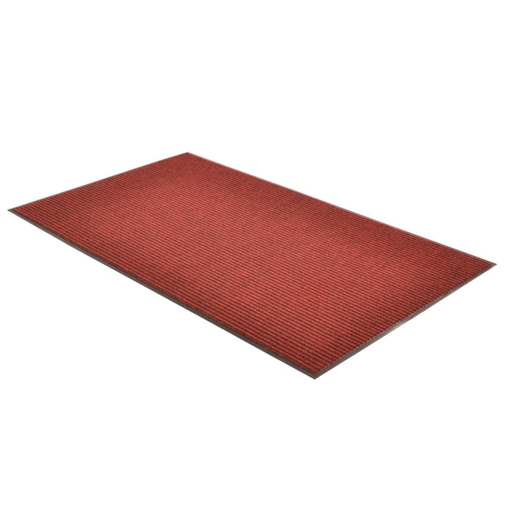Notrax T39S0048RB Bristol Ridge Scraper Floor Mat, 4 x 8 ft, Cardinal
