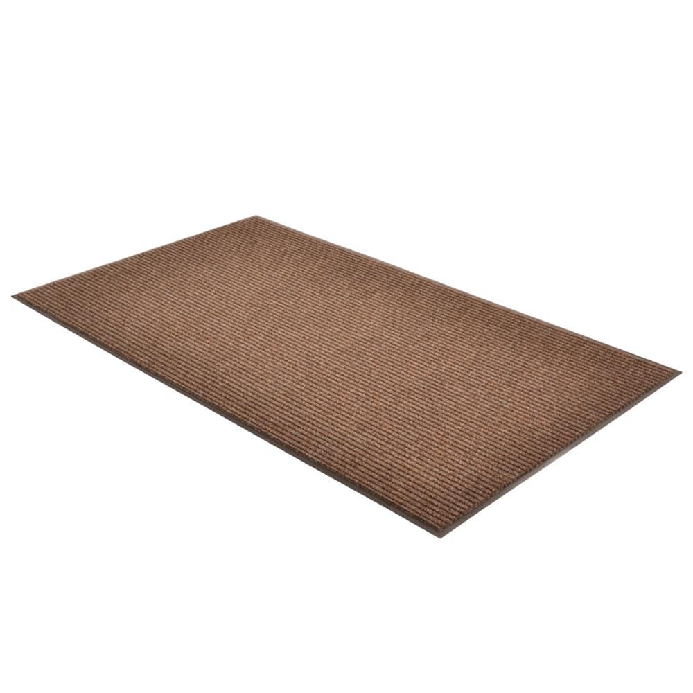 Notrax T39S0036BR Bristol Ridge Scraper Floor Mat, 3 x 6 ft, Coffee