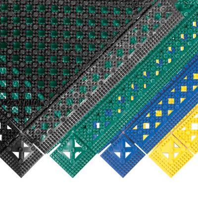 Notrax T47S1212GN Plasti-TILE Shelf & Bar Liner, 12 x 12 in, Interlocking, Green