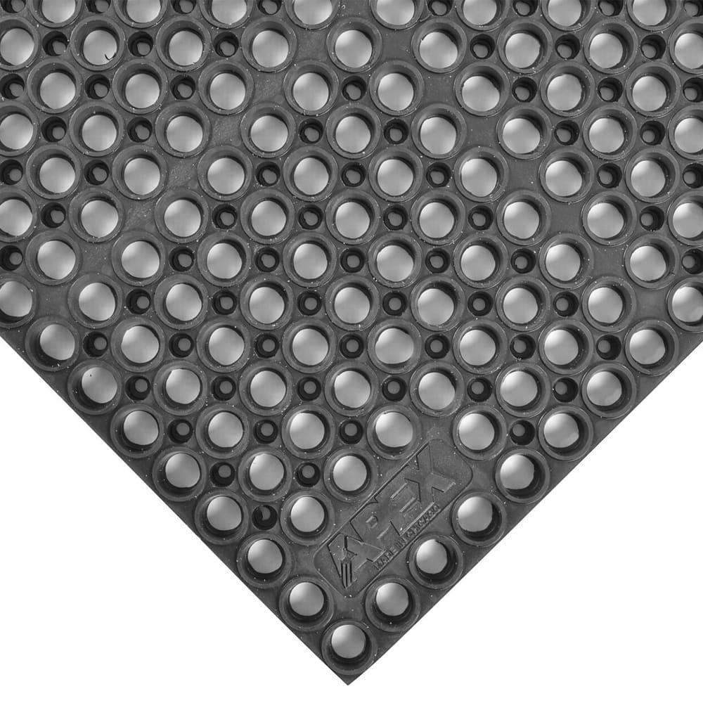 "Notrax T12U3929BL San-EZE Grease Resistant Floor Mat, 39 x 29-1/4 in, 7/8"" Thick, Black"
