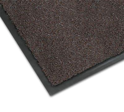 Notrax 0434-321 Olefin Fiber Floor Mat, Stain & Slip Resistant, 4 x 8-ft, Dark Toast